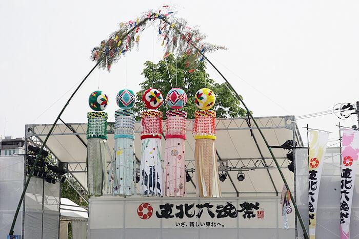 東北六魂祭での仙台七夕飾り~山形市内~ image01
