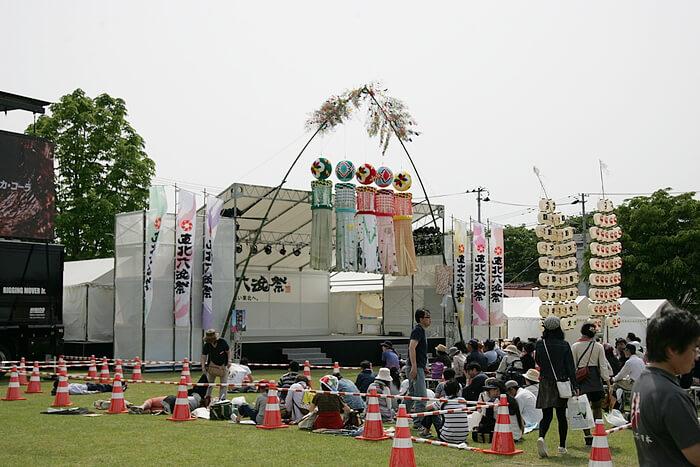 東北六魂祭での仙台七夕飾り~山形市内~ image02