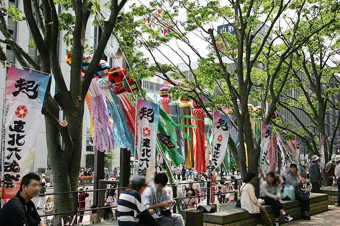 東北六魂祭での仙台七夕飾り~山形市内~ image03